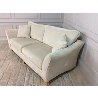 Product photograph showing Hardy Standard Back 4 Seater In Sherlock Pearl