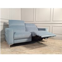 Product photograph showing Orlando 2 Seater With Electric Recliners In Brezza 06