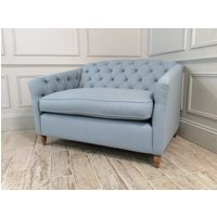 Product photograph showing Payton Loveseat Fabric Sofa In House Wool - Dew