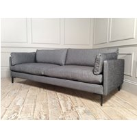 Product photograph showing Domus Soho Grand Sofa In Carbon