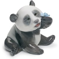 Lladro Animals A Happy Panda - Animals Gifts