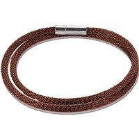Coeur De Lion Brown Mesh Bracelet   0111/31-1100