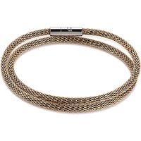 Coeur De Lion Gold Mesh Bracelet   0111/31-1600