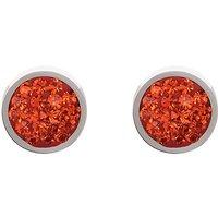 Coeur De Lion Dark Orange Earrings | 0118/21-0221 - Lion Gifts