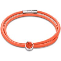 Coeur De Lion Pave Dark Orange Bracelet | 0118/31-0221 - Lion Gifts