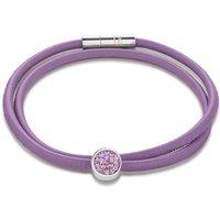 Coeur De Lion Pave Light Amethyst Bracelet | 0118/31-0826 - Lion Gifts