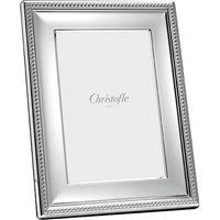 Christofle Perles Silver Plate Picture Frame, 9cm x 13cm | 04256008 - Picture Gifts