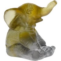 Daum Amber Grey Mini-Elephant - Animals Gifts