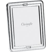 Christofle Egea Silver Plate Picture Frame, 13cm x 18cm | 04256670 - Picture Gifts