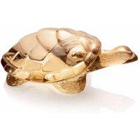 Lalique Gold Luster Caroline Turtle - Turtle Gifts