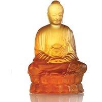 Lalique Amber Small Buddha | 10140300 - Buddha Gifts