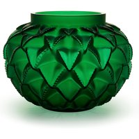 Lalique Languedoc Green Small Vase | 10488800 - Ties Gifts