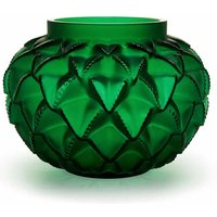 Lalique Languedoc Green Small Vase - Ties Gifts