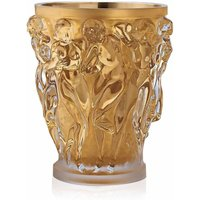 Lalique Bacchantes Gold Luster Extra Large Vase | 10547000