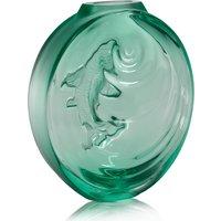 Lalique Carpe Koi Bud Mint Green Vase   10671600 - Vase Gifts