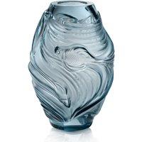 Lalique Poissons Combattants Medium Persepolis Blue Vase   10671800 - Vase Gifts