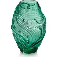 Lalique Poissons Combattants Medium Mint Green Vase   10671900 - Vase Gifts