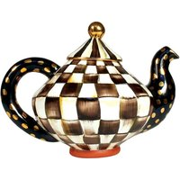 Mackenzie-Childs Courtly Check Teapot - Teapot Gifts