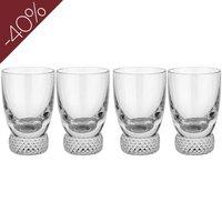 Villeroy & Boch Octavie Shot Glass, Set of 4   1173901340 - Shot Glass Gifts
