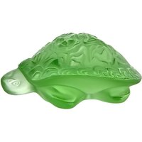 Lalique Light Green Sidonie Turtle | 1214500 - Turtle Gifts