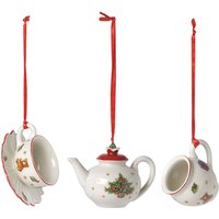 Villeroy & Boch Nostalgic Ornaments Coffee, Set of 3 | 1483316668 - Ornaments Gifts