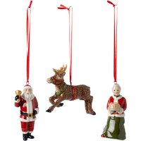 Villeroy & Boch Nostalgic Ornaments North Pole Express Ornament Set of 3 | 1483316669 - Ornaments Gifts