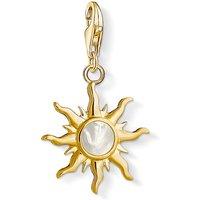 Thomas Sabo Charm Club Gold Pearl Vintage Sun Charm Pendant | 1534-429-14 - Sun Gifts