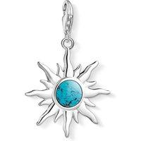 Thomas Sabo Charm Club Turquoise Vintage Sun Charm Pendant | 1535-404-17 - Sun Gifts