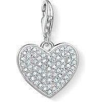 Thomas Sabo Charm Club Sparkly Heart Charm Pendant   1570-051-14 - Sparkly Gifts