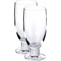 Lalique Louvre Beer Glass (Pair)