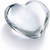 Baccarat Coeur Clear Cupid Heart - Cuff Links Gifts