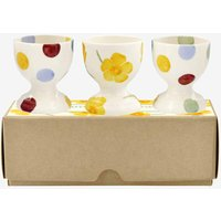 Emma Bridgewater Buttercup Scattered Set Of 3 Egg Cups (Boxed) - Cups Gifts