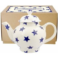 Emma Bridgewater Blue Star 4 Mug Teapot (Boxed)