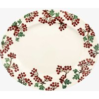 Emma Bridgewater Hawthorn Berries Medium Oval Platter