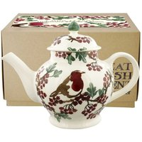 Emma Bridgewater Hawthorn Berries and Robin 4 Mug Teapot (Boxed)