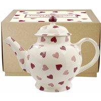 Emma Bridgewater Pink Hearts 4 Mug Teapot (Boxed)