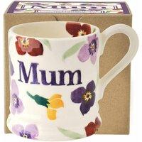 Emma Bridgewater Wallflower Mum 1/2 Pint Mug (Boxed)