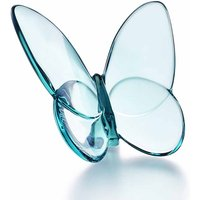 Baccarat Papillon Lucky Turquoise Butterfly - Butterfly Gifts