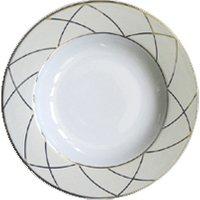 Haviland Clair de Lune Uni 24cm Rim Soup Plate - Uni Gifts