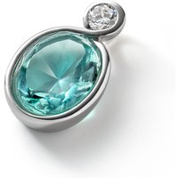 Baccarat Croise Silver & Turquoise Crystal Pendant   2812945 - Turquoise Gifts