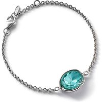 Baccarat Croise Chain Silver & Turquoise Crystal Bracelet   2812963 - Turquoise Gifts