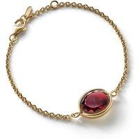 Baccarat Croise Red Vermeil Bracelet   2813001