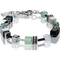 Coeur De Lion Geo Cube Green Pastel Bracelet | 2838/30-0536 - Lion Gifts