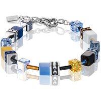 Coeur De Lion Geo Cube Blue & Yellow Bracelet | 2838/30-0701 - Fashion Gifts