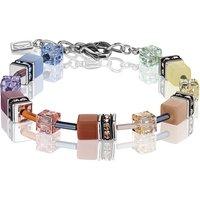 Coeur De Lion Geo Cube Soft Multicoloured Bracelet   2838/30-1542