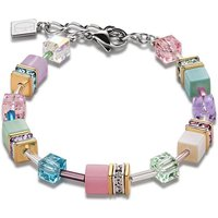 Coeur De Lion Geo Cube Romantic Multicoloured Bracelet | 2838/30-1558 - Lion Gifts