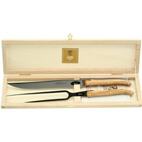 Claude Dozorme 2 Piece Olive Wood Carving Set | 2.60.032.89 - Wood Gifts