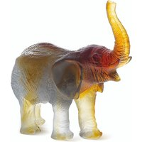 Daum Green Amber Elephant - Animals Gifts