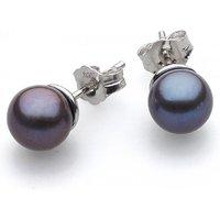 Kit Heath Desire Lustrous Peacock Freshwater Stud Earrings | 30KTPFP024 - Peacock Gifts