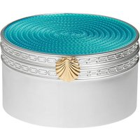Vera Wang With Love Treasures Aquamarine Seashell Treasure Box | 40008616 - Aquamarine Gifts